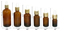 Glass acid reagent - Amber ML Amber Glass Reagent Eye Dropper Drop Aromatherapy Liquid Pipette Bottle with Sukable pipe From China