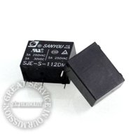 Wholesale New original power relay SJE S DM pin a group of normally open A VAC HF33F HS3 power core