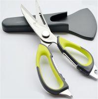 Wholesale Best Stainless steel kitchen Scissors shears multifunction cutter chicken bone fish kitchen Accessories gadgets cooking tools