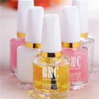 Wholesale 4pcs softener oil nutrition oil added calcium base oil light oil transparent nail polish BNC multi use Nail care set MZ13