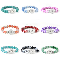 beaded gift packs - Pack Of Exquisite Contracted Bracelet Styles NOOSA Block Buckle DIY Jewelry Turquoise Bracelet Interchangeable Women E654E