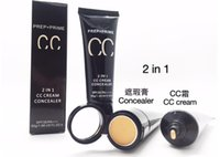 Wholesale Concealer CC Creams in1 Professional Makeup PREP PRIME CC creme COLOUR CORRECTING SPF PA g