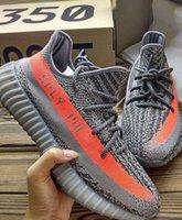 Wholesale Size Highest Version Boost V2 Steel Grey Beluga Solar Red Kanye West Season SPLY Boost V2 Shoes Original Box Receipts