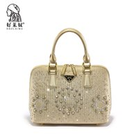 Wholesale Europe and the United States new handbag shell bag big diamond Dinner Bag Handbag