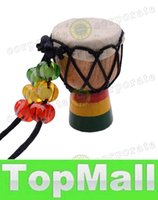 Wholesale LAI MINI Jambe Drummer For Sale Djembe Percussion Musical Instrument African Hand Drum New Brand