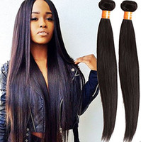 Wholesale 8A Brazilian Virgin Hair Straight Human Hair Weave Bundles Straight Virgin Hair Rosa Hair Products Brazilian Straight Bundles g
