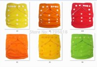 Wholesale Hot sale plain color cloth diapers Fitting Ultra Thin Cloth Diapers Inexpensive Baby Diapers With Inserts