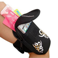 Wholesale Outdoor Sports Arm Package Running Jogging Gym Protectiven Mobile Phone Wrist Bag Fitness Men and Women Arm bag For Samsung Iphone