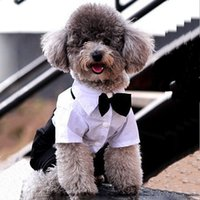best western dogs - Western Men s Suit Bow Tie Clothes for Small Pet Dogs Clothes Puppy Apparel Jumpsuit Best