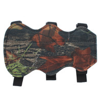Wholesale Archery Bow Arm Guard Protection Forearm Safe Strap Camo Leather