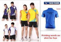 Wholesale For new badminton shirt badminton clothes table tennis shirt table tennis clothes T shirt tennis shirt