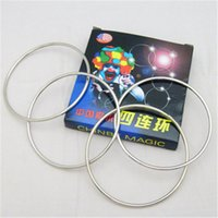 Wholesale Chinese traditional magic tricks props toys magic four serial with instructions for professional magicians Close up magic tricks