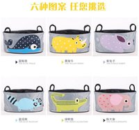 Wholesale Baby stroller bag multifunctional bag containing baby stroller accessory bag Mommy special car hanging bag Bag Stroller Bag Cartoon Accesso