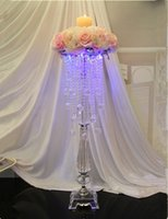 Wholesale New arrival cm tall cm diameter acrylic crystal wedding road lead wedding centerpiece event party decoration