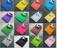 Wholesale 2016 Mens Polo Short Sleeve T Shirts Solid camisetas tenis camisa masculina t shirt