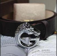 105 cm beaded chain sizes - 2016 new hip brand buckle designer belts for men women genuine leather gold Men s