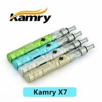 al por mayor kamry x7-El precio barato Kamry X7 con la batería 1600mah y el atomizador DHL Fedex de X6 v2 libera la nave