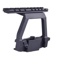 ak handguard rail - SINAIRSOFT AK U Mount Quick release mm AK Side Rail Lock Scope Mount Base for AK U Rifle