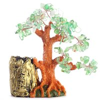 cheap crystal lucky tree pen lucky tree home office decoration luckygreen 1729 cheap office plants