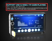 Wholesale NEW inch LCD Touch screen car radio mp5 player BLUETOOTH mp4 mp3 audio P movie Support rear view camera din car audio