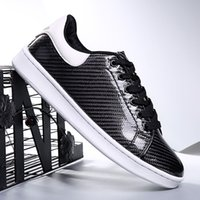 best running gifts - New Arrival Casual Shoes High Quality With Real Carbon Fiber Black Shoes Best Gift as Shoes