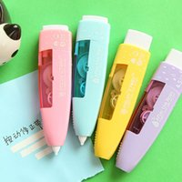 Wholesale 4 Correction tape Candy color Fresh design corrective tapes stationery material escolar Office School supplies
