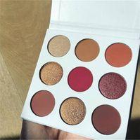 Wholesale 2016 Newest Hot arrival Kylie burgundy palette Eyeshadow palette eyes powder vs Bronze Palette