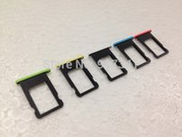 Wholesale 10pcs High quality New sim card tray holder For iPhone C with tracking number