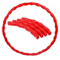 Wholesale Removable Fitness Hula Hoop Lose Weight Slimming Abdomen Bodybuilding Equipment for Women Girls MD0012 smileseller