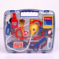 Wholesale New Baby toys Doctor Play sets Simulation Medicine Box Doctor Toys Stethoscope Injections Children gifts