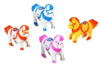 amusement pink - Chain pony wind up toy Amusement toys toys children s Amusement toys