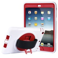 air process - For Ipad Air Case For Ipad Air case Candy color Red PC TPU Popular candy color proofing the protection shell customized processing