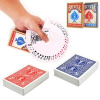 Wholesale 2 Red and Blue Classic Version Sealed Standard Bicycle Poker Playing Cards