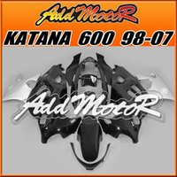 best katana - High Quality Fairings Addmotor New Design Compression Mold ABS For Suzuki Katana Black SK729 Free Gifts Best Chioce