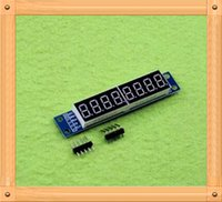 Wholesale digital display MAX7219 LED display supports cascading eight serial IO port control E1B4