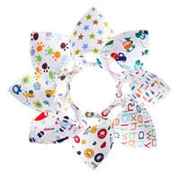 Wholesale 2016 Baby triangular bandage saliva towel bib Double cotton Bandana Bavoirs Equipment Bib waterproof feeding bibs
