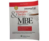 bar magazine - 2016 New Good Selling Book Strategies Tactics for the MBE Fifth Edition Emanuel Bar Review th Edition