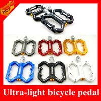 kids bike bicycle - HOT Selling Ultra thin Aluminum Bike Pedals With Bearings MTB Pedals Mountain Racing Bicycle Pedal Cycling parts