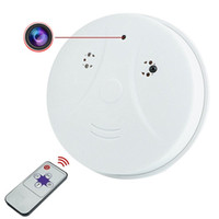 Wholesale Hidden Camera Spy Camera Smoke Detector DVR Security Nanny Camcorder Motion Detection with Remote Controller