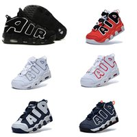 best athletic shoe - 2016 AIR More Uptempo Scottie Pippen Basketball Shoes For Lover Fashion Best Price black white Top Quality Athletic Sport Sneakers Eur