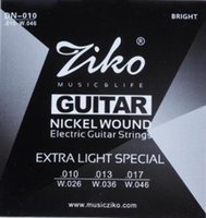Wholesale ZIKO guitar strings Electric Guitar strings guitar parts musical instruments Accessories