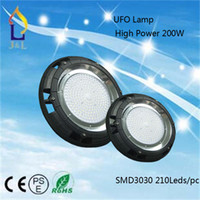 Wholesale UL Listde New UFO Lamp High Power W W W Light SMD3030 Leds pc lm AC85 V High brightness lighting