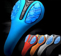 Wholesale 2016 NEW Cycling Bike Saddle Bicycle Parts Road Bike Seat Mat Cover Comfortable Cushion Soft Thickened Silica Gel MTB Pad