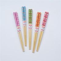 bamboo tableware - Bamboo Chopsticks cm Printing Children s Chopsticks Popular Tableware MOQ Pair