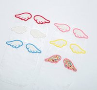 baby sweatbands - HOT Cartoon Angel Wings Absorbent Towels Baby Kids Sweatband Cotton Gauze Mat In The Backside Cicishop