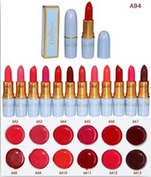 Wholesale Makeup M Lips Cinderella Lipstick Brands Colors Shimmer Nude Lip Sticks Lips Make Up with English Name