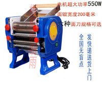 Wholesale Genuine commercial noodle machine type electric noodle machine noodle dumpling skin machine W electric machine tool feed knife
