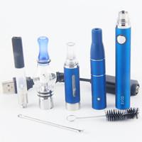 Wholesale 2017 eVod vaporizer wee tank vape kit dry herb dab pen kit in starter kits wax oil vapes pen evod starter kit