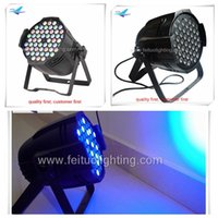 active aluminium - aluminium w dmx rgb led par light for club dj disco bar club night lighting