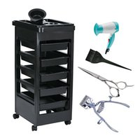 beauty salon station - 2016 Beauty Salon Trolley Station Equipment Rolling Storage Removable Tray Cart Quality